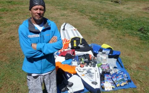Bart De Zwart Begins Incredibly Cold SUP Expedition