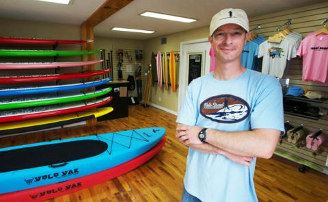 Stand Up Paddling in Pensacola