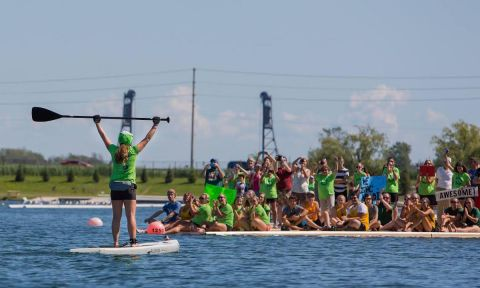 Maddi Leblanc Honors Loved Ones With Charity Paddle, On Board