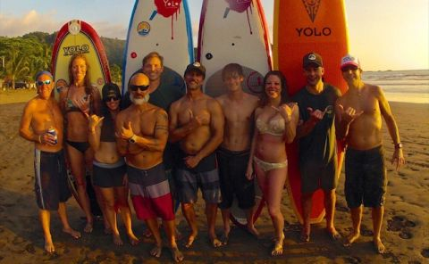 YOLO Board Offers Paddleboard Camp in Costa Rica