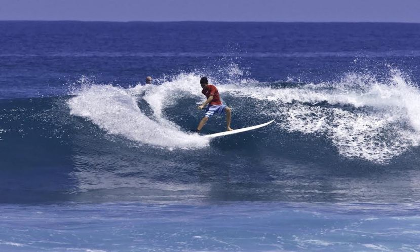 At only 14-years-old, Dave de Armas is already making a name for himself. | Photo: Angel Cordero