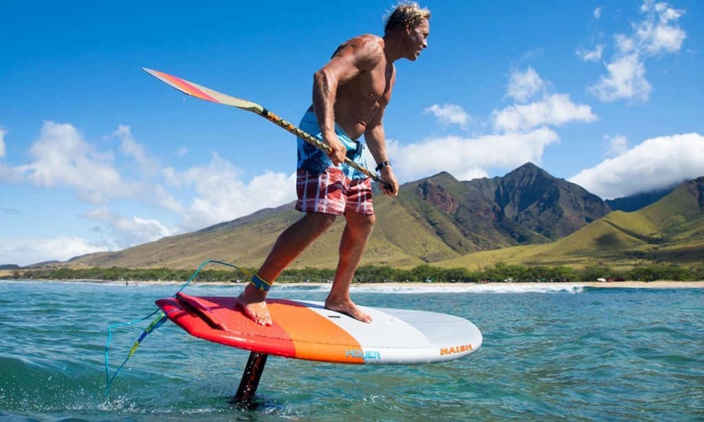SUP Foiling: What Paddle Should I Use?