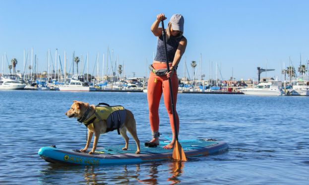 Sam Eastburn with her pup Jack. | Photo © Supconnect