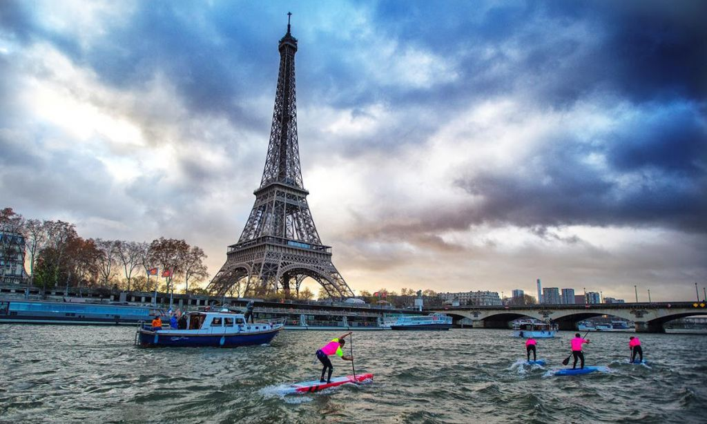 Paris SUP Open is set for December 2021. | Photo courtesy: APP World Tour
