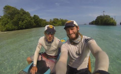 English Paddlers Set Adventure Prone Paddling World Record In Panama
