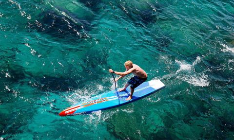 Catching Up With SUP Race Pro Connor Baxter