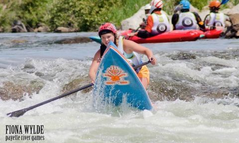 Payette River Games ambassador, Fiona Wylde, talks about her passion for stand up paddling and why Werner Paddles is the fit for her. | Photo: Paul Clark