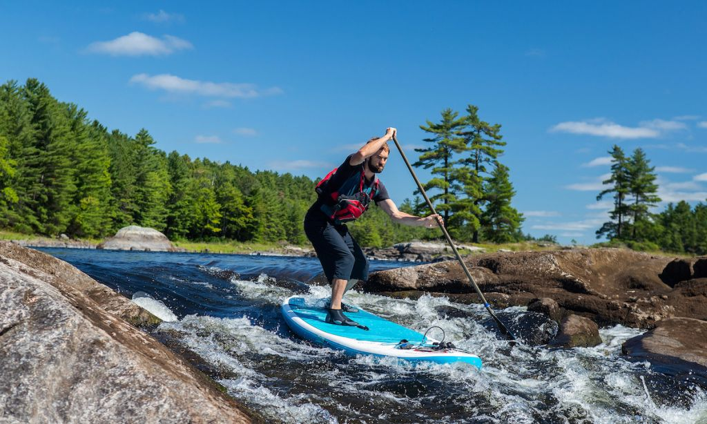 7 Physical & Mental Benefits of Whitewater SUPing