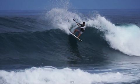 Mo Freitas, raising the bar of SUP surfing at only 18.