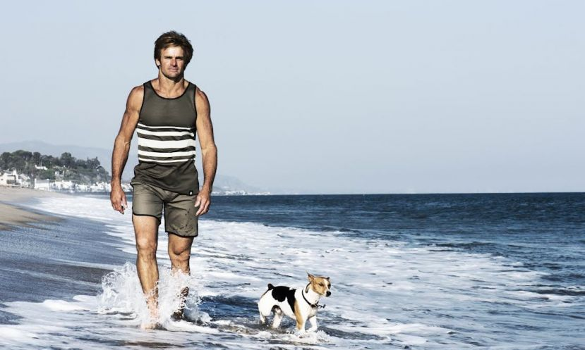 Laird Hamilton announces the launch of his new clothing line, Laird Apparel.