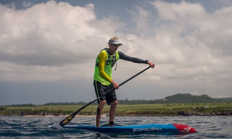 Connor Baxter, your 2017 World SUP Racing Champion. | Photo Courtesy: APP World Tour