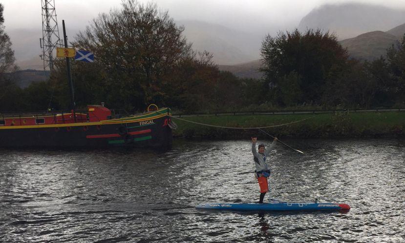 Bart De Zwart Breaks Records At UK SUP Great Glen Paddle Challenge