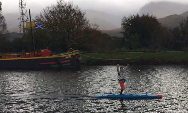 Bart De Zwart Breaks Records At UK SUP Great Glen Paddle Challenge