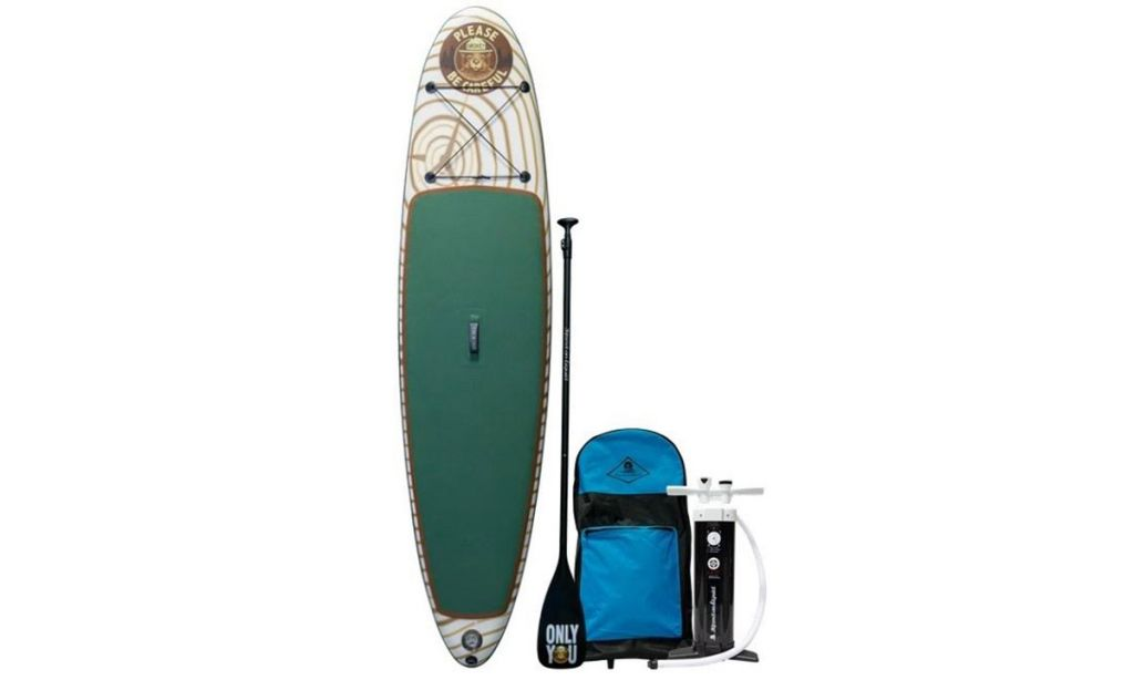 Limited Edition Smokey Bear SUP Board Unveiled
