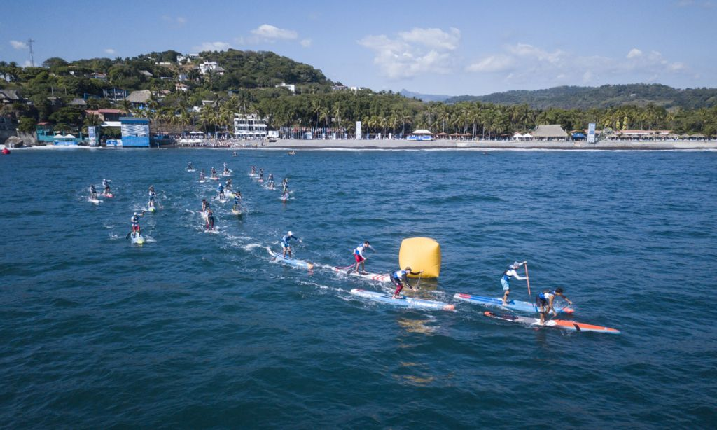 Race start at the 2015 Race the Lake of the Sky 2015. | Photo: Sean Davis