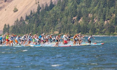 2016 Naish Columbia Gorge Paddle Challenge. | Photo by Gorge US Photography