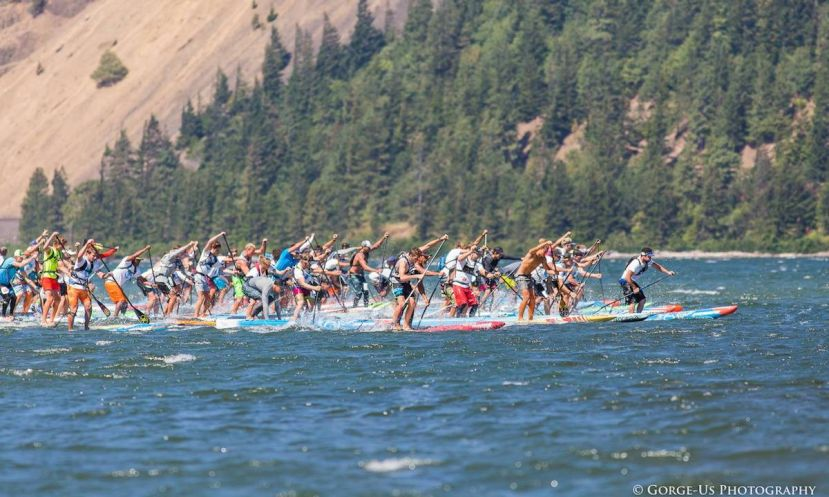 7th Annual Naish Columbia Gorge Paddle Challenge Hits Hood River