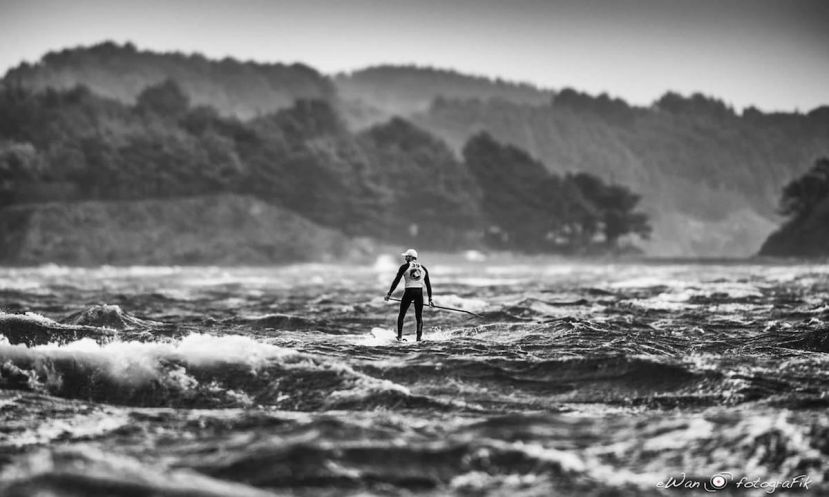 Paddle Storm Master trial run. | Photo: Ewan Lebourdais