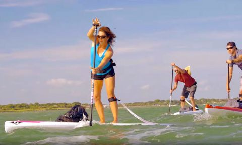 BIC SUP Wing Paddle Board Series 2016 Video
