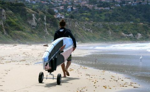JAX Trailer Makes Debut on the SUP World