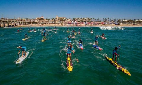 Huntington Beach World Series Event, 2015. | Photo Courtesy: Waterman League