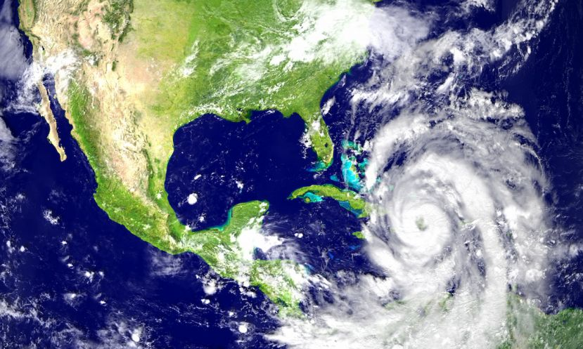 Hurricane Irma set for destruction in the Atlantic. | Photo: Shutterstock