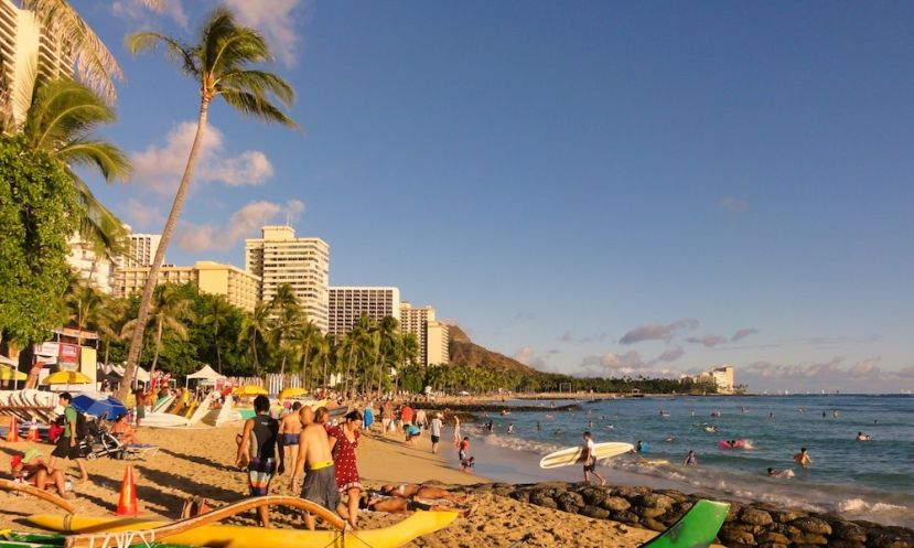 A 32 year-old man has been reported missing in Waikiki after not returning to the beach with his paddle board.