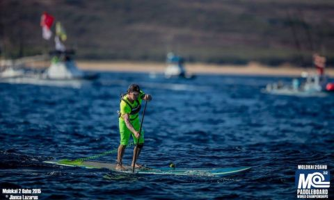 Travis Grant at the start of the 2015 M2O race. | Photo: Jianca Lazarus