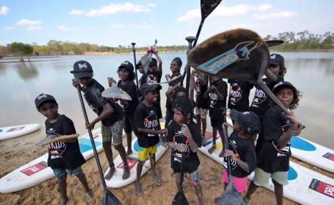 SUPKids In Aurukun, Far North West Queensland