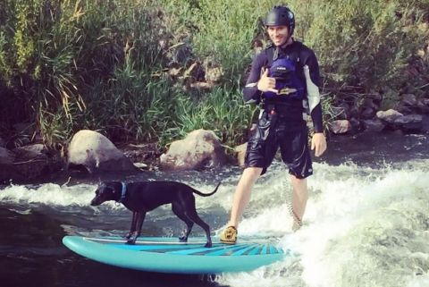 How To River Surf With Your Best Friend