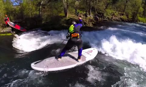 River Walkers, a film from Wanderlust explores the exiting sport of White Water SUP.