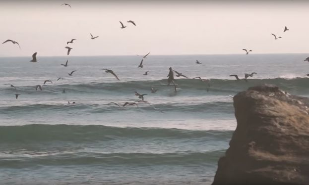 Benoit Carpentier Goes Foiling Morocco Style