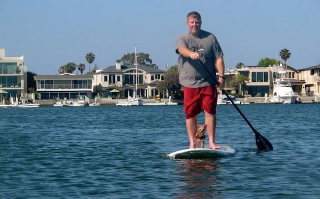 Christopher Anderson Will SUP 50 States in 51 Days