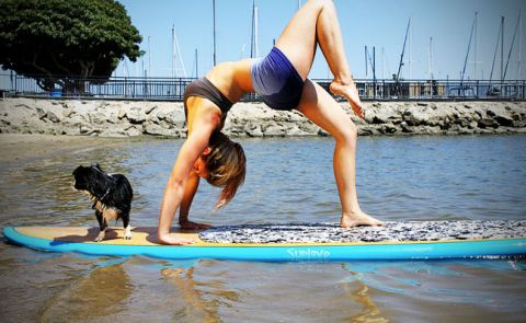 Paddle Board Yoga Airs on National TV Show