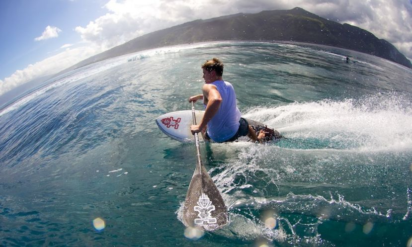 Learn how to catch a wave on your SUP with help from Sean Poynter! | Photo: Ben Thouard