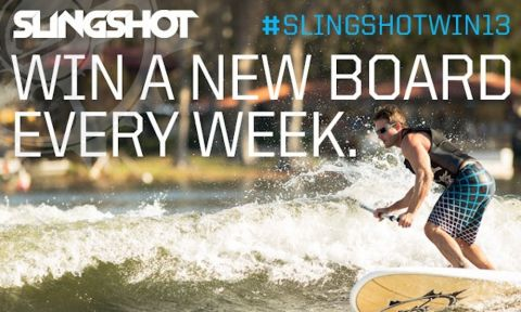 Slingshot To Give Away Six Boards in Six Weeks!