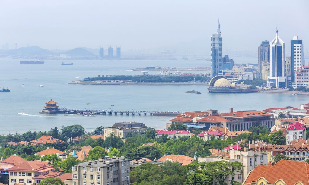 A view of Qingdao, China. | Photo: Shutterstock