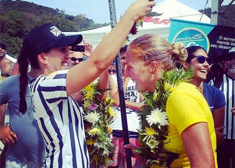 Candice Appleby Wins Battle of the Paddle Brazil