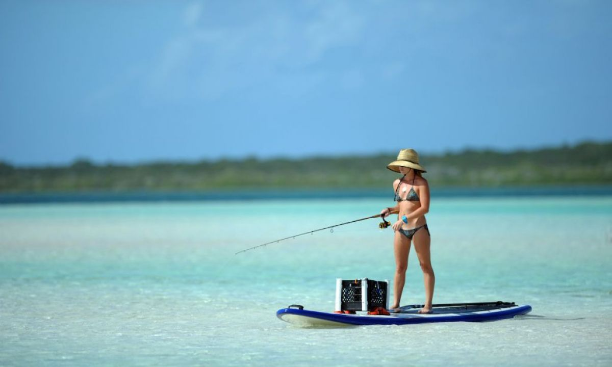 SUP Fishing in the Caribbean | Photo Courtesy: Shutterstock