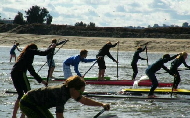 Tecolote 5000 SUP Race In San Diego