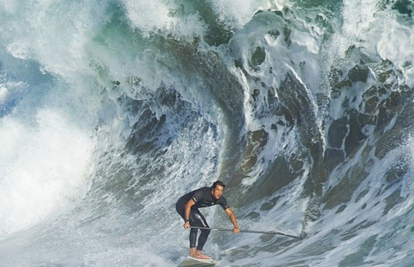 Watch Stand Up Paddle Video Of Massive Newport Wedge
