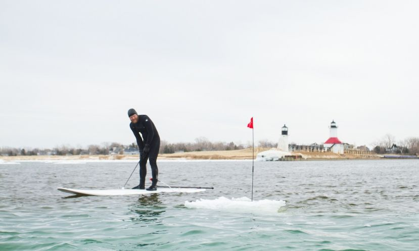 Iceberg golf - the next big thing? You decide. | Photo: Seth Haley