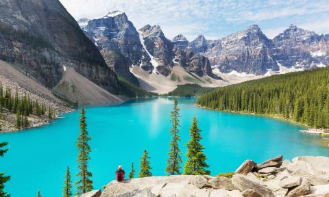 Moraine Lake in Banff National Park. | Photo: Shutterstock