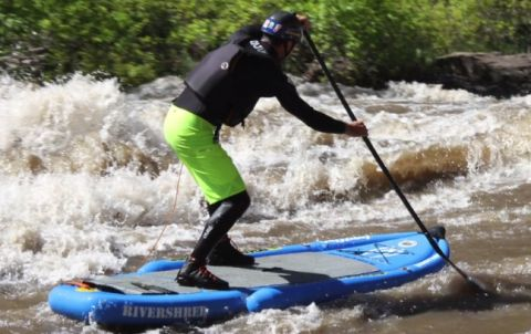 "Boardworks Showcases New 2015 ""Rivershred"" Inflatable SUP"