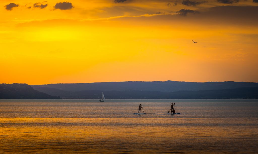 Sunset on Lake Balaton | Photo: Shutterstock
