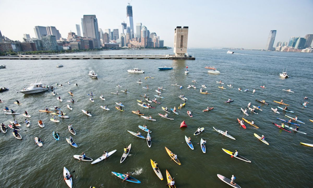 2017's Sea Paddle NYC.