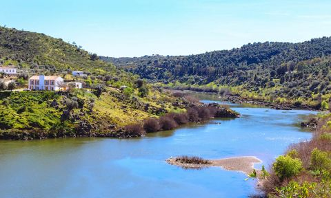 A view of the Guadiana River in Portugal. | Photo: Shutterstock