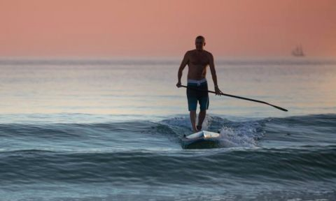 How To Catch A Wave On A Stand Up Paddle Board