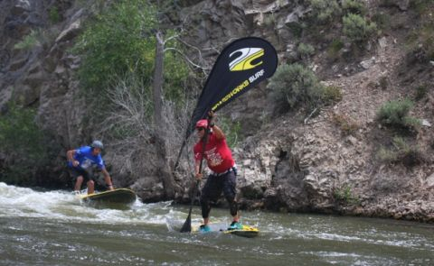 Boardworks Sponsors Whitewater SUP Event