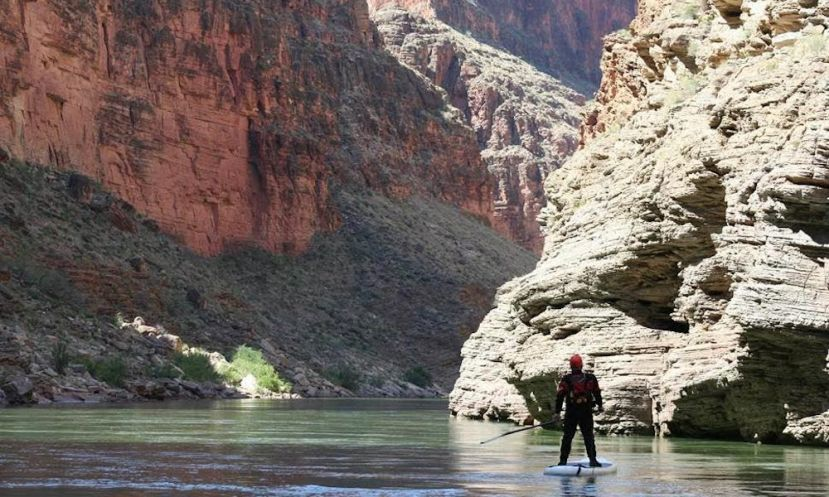SUP Paddler Goes On An EPIC Adventure Down The Grand Canyon